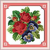 Набор для вышивки «Цветочная фантазия», H096, отзывы