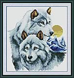 Набор для вышивки крестиком «Волки», D086
