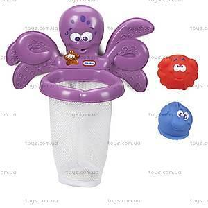 Набор для игры в ванной «Баскетбол с осьминогом», 637605M, фото