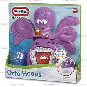 Набор для игры в ванной «Баскетбол с осьминогом», 637605M