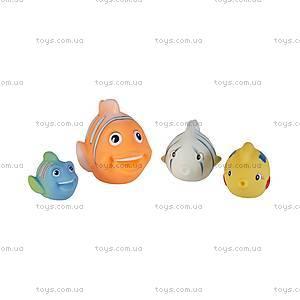 Набор для игры в ванной «Четыре рыбки», 1757/4TR, фото