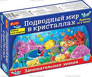 Набор для исследований «Подводный мир в кристаллах», 12138015Р, купить