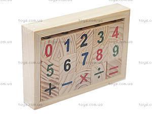 Деревянный набор для изучения арифметики, 141-06, фото