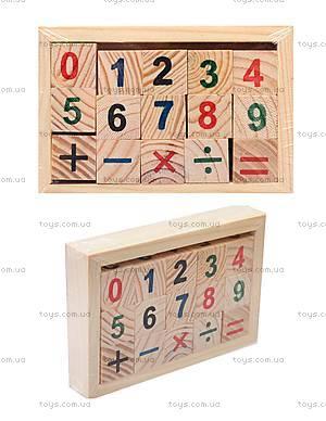 Деревянный набор для изучения арифметики, 141-06