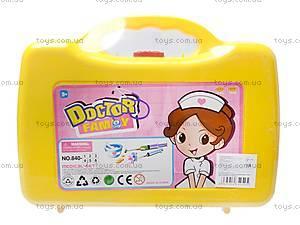 Набор «Доктор» в чемодане, 840-4, купить