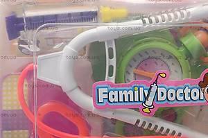 Набор «Доктор» в чемодане, 840-4, игрушки