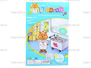 Игрушечный набор доктора с куклой, 8206B-3, фото