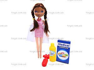 Набор доктора с куклой в сумочке, 116-48, фото