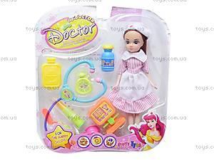Набор доктора с куклой, 3A-033