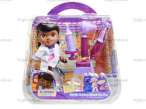 Набор доктора с куклой «Доктор Плюшева», 8655-2X, фото