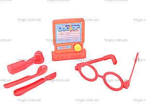 Игрушечный набор доктора в саквояже, 118-11, детские игрушки