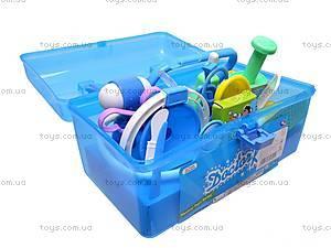 Набор доктора в чемоданчике, для детей, B7613-1, детские игрушки