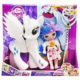 """Набор """"Dream Horse: лошадка и кукла-пони"""" (белый), LJF850, купить игрушку"""