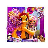 """Набор """"Dream Horse: лошадка и кукла-пони"""" оранжевая, LFJ850, фото"""