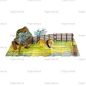 Игровой набор «Дикие животные» для детей, D33703, фото