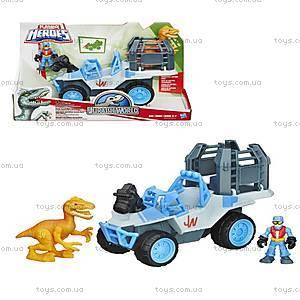 Игровой набор «Динозавр и транспортное средство», B0534, купить