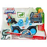 Игровой набор «Динозавр и транспортное средство», B0534, фото