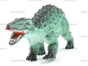 Игровой набор динозавров, 3 штуки, 3418, фото