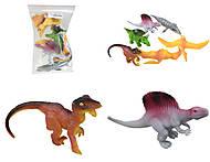 Набор динозавров «Тянучки», A130DB, отзывы