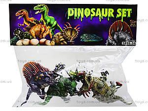 Набор динозавров «Доисторический мир», 5898-56, игрушки