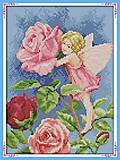 Набор с нитками «Фея цветов» для рукоделия, K588, купить