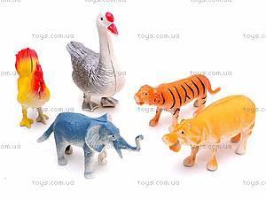 Набор фигурок диких животных, 0551-2, купить
