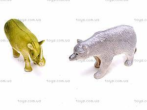 Набор фигурок диких животных, 0551-2, фото