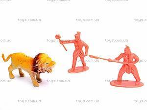 Набор фигурок диких животных, 0551-2, цена