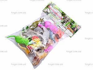 Набор фигурок диких животных, 0551-2, игрушки