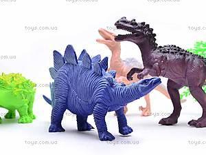 Набор фигурок «Динозавры», K182S, фото