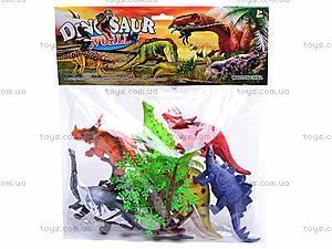 Набор фигурок «Динозавры», K182S, цена