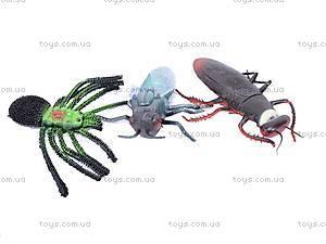 Набор фигурок насекомых, 837H-2