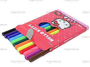 Набор фломастеров Hello Kitty, 12 штук, HK13-046K, фото