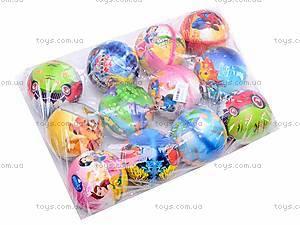 Набор фомовых мячиков с картинками, W02-85, отзывы