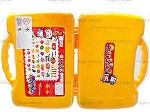 Набор фруктов и овощей в чемоданчике, 849-7, цена
