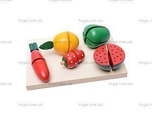 Набор «Фрукты и овощи», деревянный, 2012-59, купить