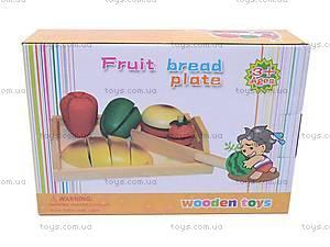 Набор «Фрукты и овощи», деревянный, 2012-59, цена