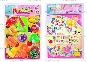Набор игровой для детей «Фрукты и овощи», 6617-2