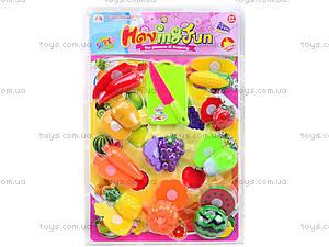 Набор игровой для детей «Фрукты и овощи», 6617-2, цена
