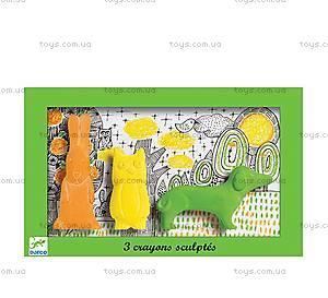 Набор фигурной пастели «Заяц, сова, собака», DJ08868