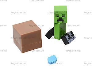 Набор фигурок героев Minecraft, 14159, игрушки