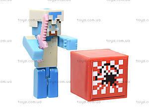 Набор фигурок героев Minecraft, 14159, детские игрушки