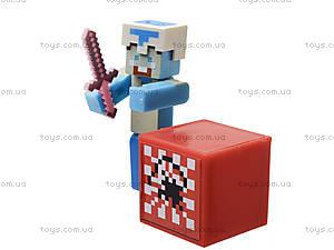 Набор фигурок героев Minecraft, 14159, toys.com.ua