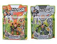 Набор фигурок Hero 3, 998-14, детские игрушки