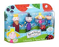 Набор фигурок «Маленькое королевство Бена и Холли», 30973, игрушки