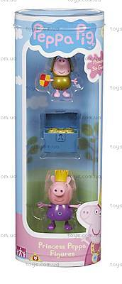 Набор фигурок Принцесса Пеппа и Сэр Джордж голд серии «Принцесса», 05866-4, купить