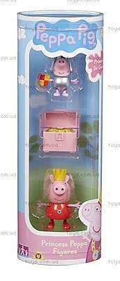 Набор фигурок Принцесса Пеппа и Сэр Джордж сильвер серии «Принцесса», 05866-3, купить
