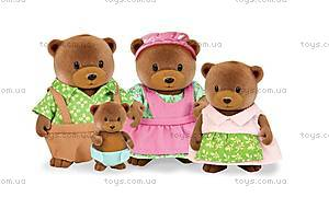 Набор фигурок «Семья медведей» , 6093Z