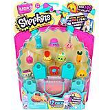 Набор фигурок Shopkins S3 «12 друзей шопкинс», 56031, детские игрушки