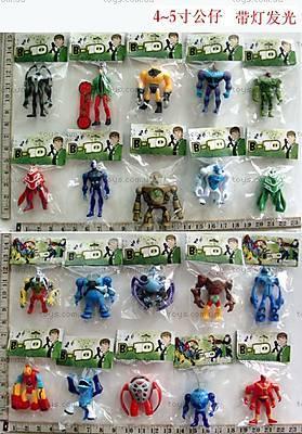 Набор героев «Бен 10», 20 видов, 6300